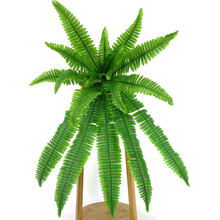 Artificial Fern Persian Leaves Flower Simulation Grass Wall Hanging Green Plants Home Decoration Accessories Fake Flowers