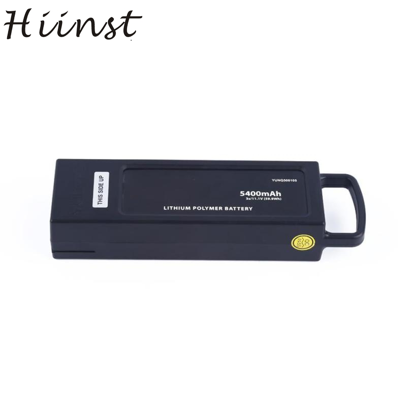 Hiinst 1 pcs 5400mh 3S/11.1V(59.9WH) Replacement Aerial Battery For Yuneec Q500 OCT19