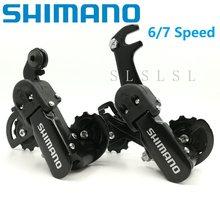 1a570260679 Bicycle Rear Derailleur Original SHIMANO SIS TZ31 6/7 Speed 18/21 Speed  Shifter MTB Mountain Bike Folding Bike RD-TZ30 TZ31A