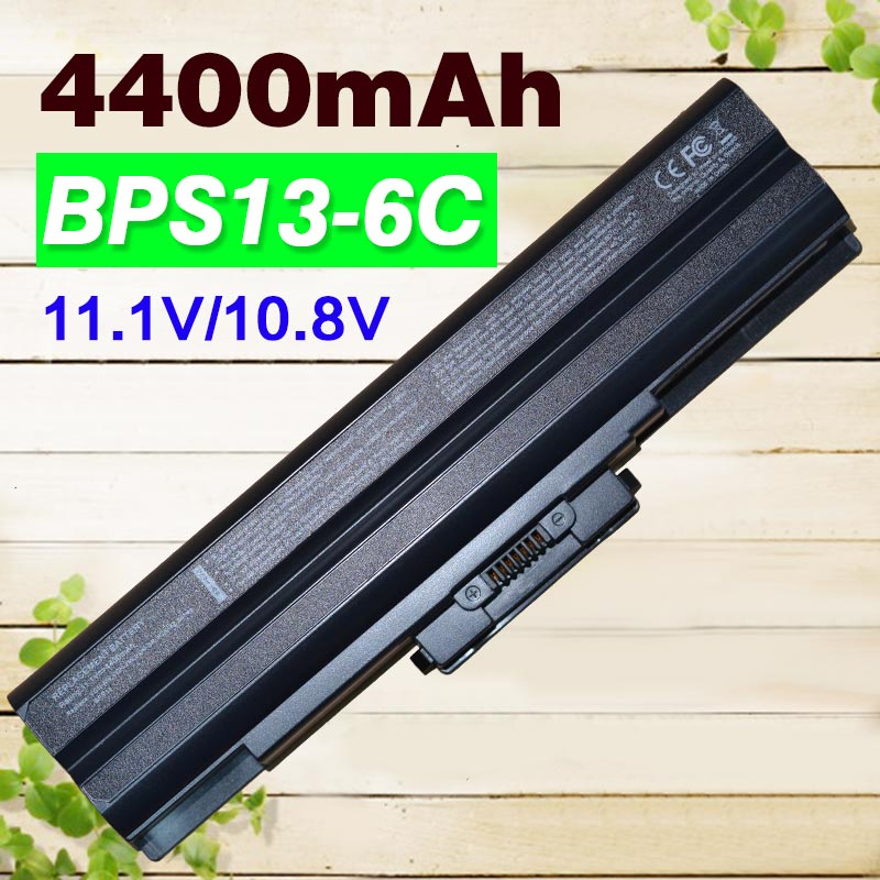 Apexway 4400mAh 6 cells Laptop Battery For Sony VGP-BPL13 VGP-BPS13B/Q VGP-BPS13A/R VGP-BPL21 VGP-BPS13A VGP-BPS21B VGP-BPS21A quality new laptop battery for sony v c ca cb series vgp bpl26 vgp bps26 vgp bps26a bps26 bpl26 4400mah