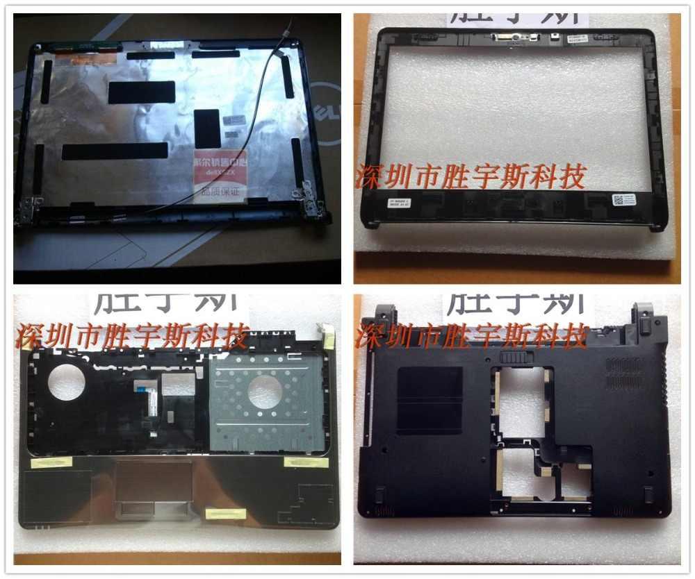 新しいケースデル Insprion 1464 バックカバー/ベゼル/パームレストアッパー/ボトム下部/ヒンジ/画面ケーブル/キーボード/電源ボタン/タッチパッド