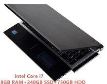 8G RAM 240GB SSD 750G HDD 15 6 1920 1080P Intel Core i7 HD Graphics 4000