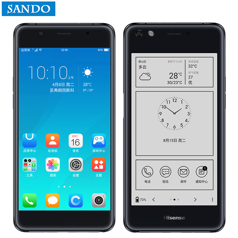 Global Hisense 4G LTE mobile phone S9 A2 Pro Cell 64G ROM Double Screen celular Smartphone 4G LTE Dual Screen cellular Phone