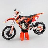 1/12 scala bambini redbull No. 5 Ryan Dungey SXF450 SUPERMOTO CHAMP KTM Motocross Moto Diecast metallo modello corsa dirt bike giocattoli