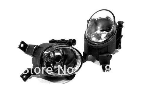 Glass Lens Front Fog Light Assembly For Audi A4 B7
