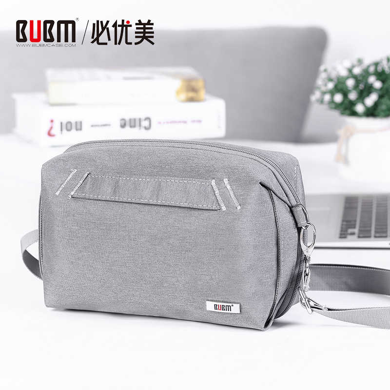 BUBM Digital Storage bag, Waterproof Travel Cable Accessories Organizer,Hard drive case for Cable, Power bank,7.9'' Mini Tablet