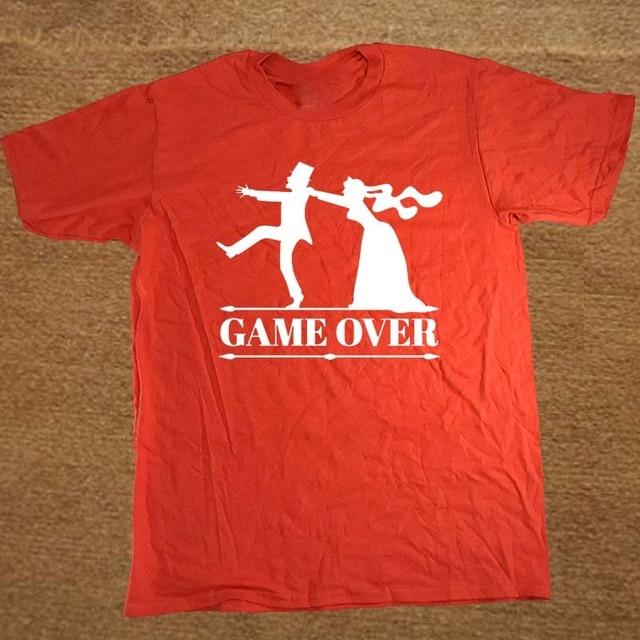 1b92f17a3 Jogo sobre a festa de despedida de solteiro do noivo da noiva T Shirt  Engraçado Tshirt