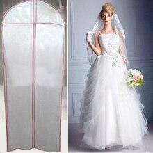 180*60 см складное свадебное вечернее платье мешок для хранения свадебная одежда платье Пыленепроницаемый Чехол