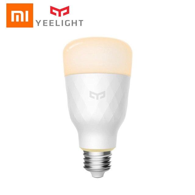 Xiao mi Yeelight RGB الذكية LED لمبة 10 واط E27 الملونة 800 لومينز الليمون الذكية مصباح ل mi المنزل App التحكم عن بعد الأبيض/RGB الخيار