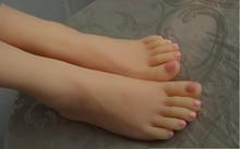 font b sex b font font b doll b font Fake silicon women footfetish Feet