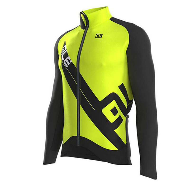 ALE 2018 new riding jersey riding gear long sleeve career men fall Rome ciclismo mountain bike bicycle shirt high quality