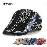 Baseball Cap Cotton Embroidery Patchwork Adjustable Baseball Cap Snapback Caps Fitted Bone Casquette Hat For Men
