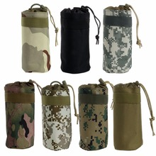 7 Color Camouflage Tactical Military System Water Bottle Bag Kettle Pouch Holder Bag Outdoor New Kettle Bags HY2835