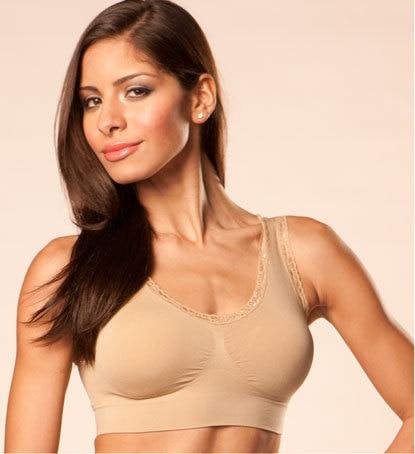 fd7a64b938 Lace Style Seamless Ahh Bra Rhonda Shear As Seen On TV Sports Bras For  Women 900pcs Free Shipping-in Bras from Underwear   Sleepwears on  Aliexpress.com ...
