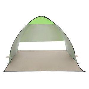 Image 2 - Odkryty automatyczny namiot kempingowy namiot plażowy anty UV schronisko Camping wędkowanie piesze wycieczki piknik natychmiastowa konfiguracja Outdoor Sunshelter