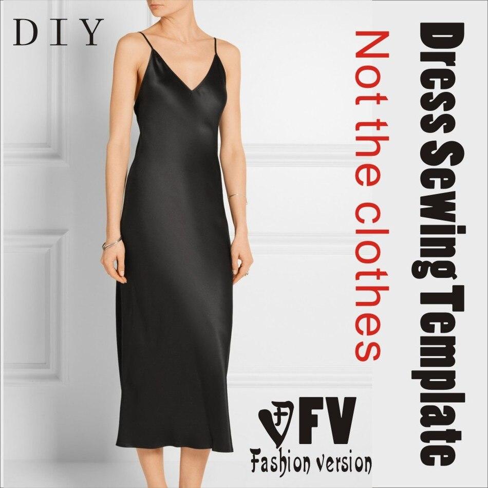 Roupas Diy O Vestido Vestidos De Padrão De Costura Corte