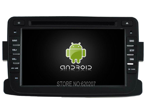 Android 5.1 CAR Audio DVD player gps FOR RENAULT Dacia/Duster/Logan/Sandero  Multimedia navigation head device unit receiver