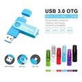 WSD USB 3.0 High speed OTG Rotation usb flash drive u disk 32GB 16GB 8GB Pen drive Memory stick flash for Android Phone gift