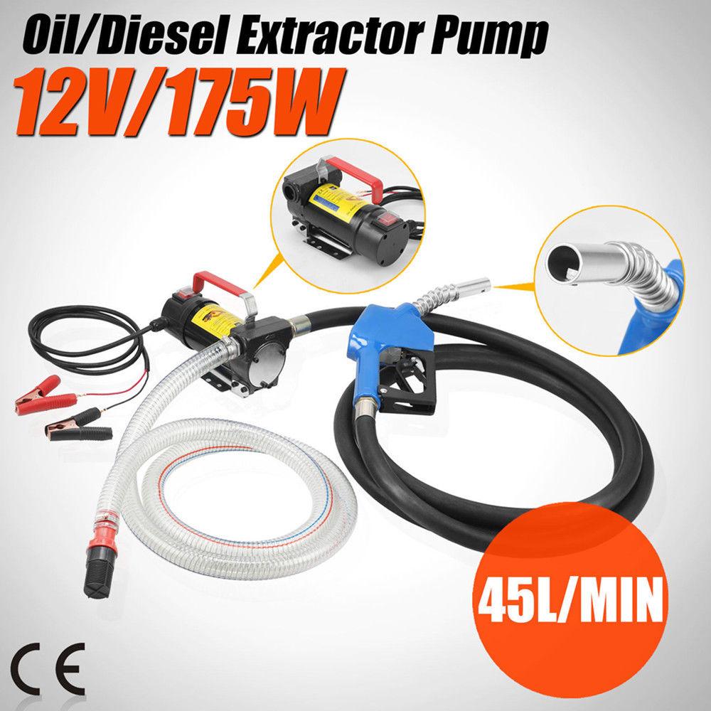 Здесь можно купить  PRECISION AUTO LABS  12V DC Electric Fuel Transfer Pump Diesel Kerosene Oil Commercial Auto Portable  Автомобили и Мотоциклы