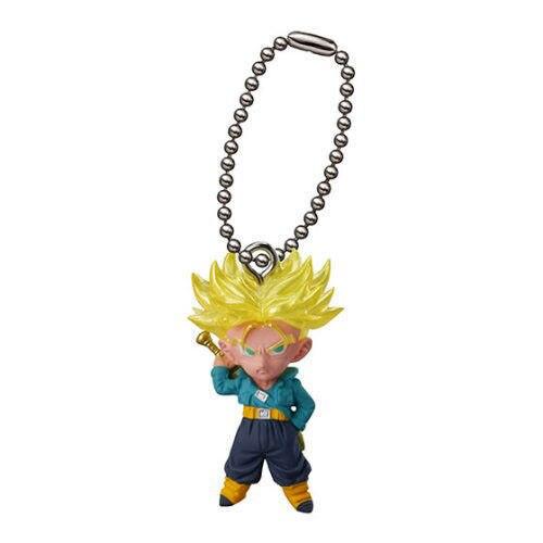 DRAGONBALL Dragon Ball Z/GT Original BANDAI Phone/Key Chain Gashapon PVC Action Figure UDM Best 09 - Super Saiyan Trunks DRAGON BALL Store store