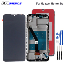 Original For For Huawei Honor 8A JAT-L29 LCD Display Touch Screen Digitizer Phone Parts With Frame For Honor 8A LCD Display original lcd screen display touch panel digitizer with frame for huawei honor 4x black or gold free shipping