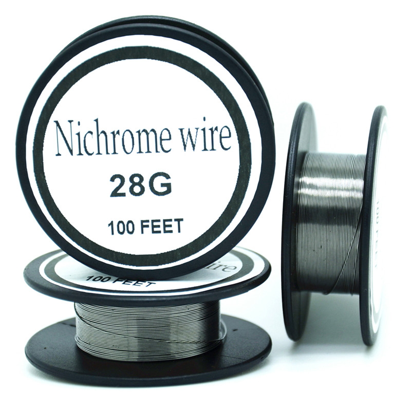 Nichrome wire 28 Gauge 100 FT 0.3mm Cantal  Resistance Resistor AWG   DIY atomizing core  цены