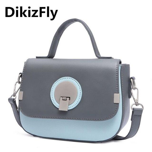 3e621b00712f Мода со вставками Женские сумки в Японии и корейский стиль сумка женские  кожаные сумочки сумки через
