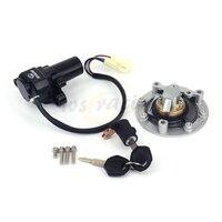 Motorcycle Lockset Ignition Key Switch Fuel Gas Cap Lock Key For YAMAHA YZF R6 YZF R6 2003 2005 2003 2004 2005