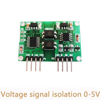 10pcs Lot DIY Voltage Signal Isolation Linear Transmitter Module 0 5V Two Channel Cost Effective Easy