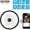 DAYTECH Wireless IP Camera WiFi Surveillance Camera HD 960P 360 Degree Panoramic Camera Motion Detection IR
