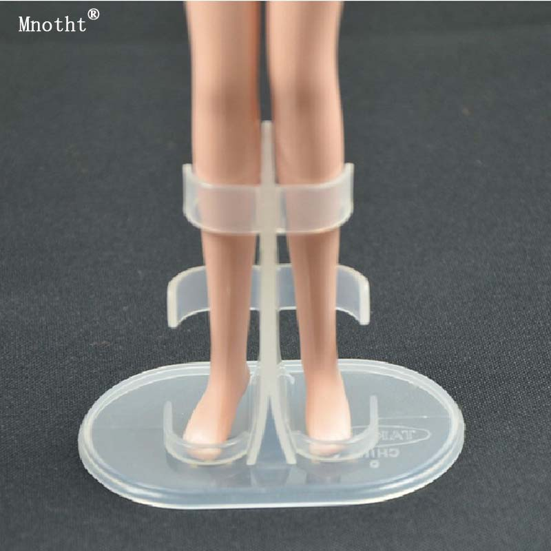 Mnotht 5PCS 1/6 Transparent Display Stand Military Model For 12 Female Soldier Action Figures Accessories doll