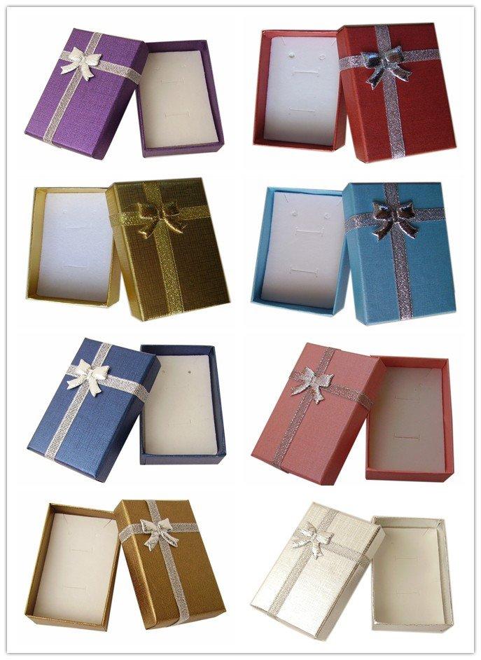 New Sale 96pcs/lot Assorted 5*8*2.5cm Cardboard Jewelry ...