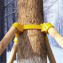 ปฏิบัติสนับสนุนโรงงานกรอบต้นไม้ใหญ่ปลูกสนับสนุน Stakes ขาตั้งกล้องถ้วยพลาสติกภูมิทัศน์เครื่องมือการเกษตรสวนอุปกรณ์