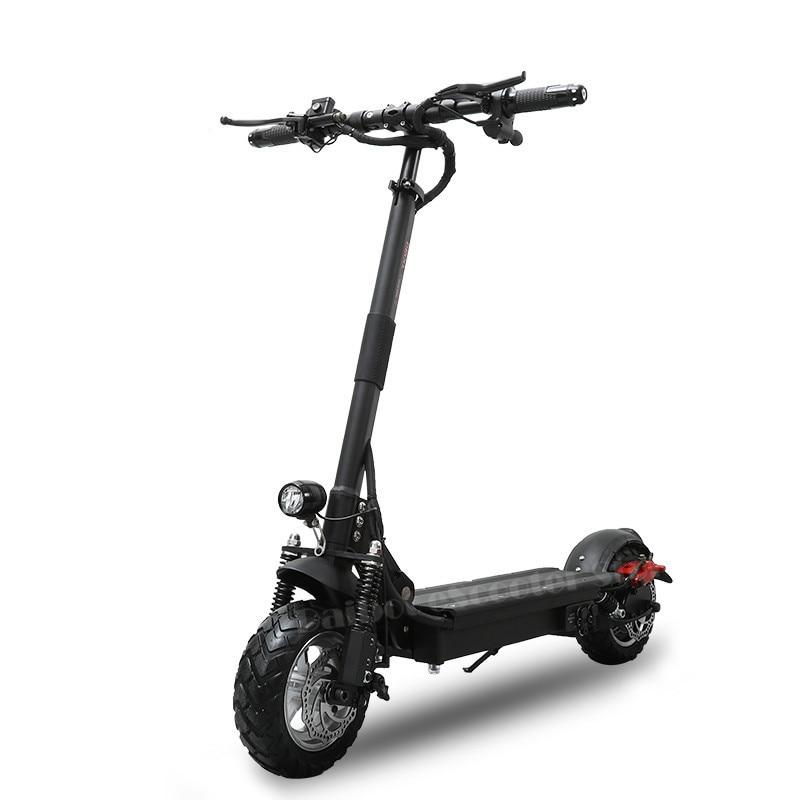 Мощный электрический скутер 1000 Вт 48 В AQIHO складной для взрослых 52 в складной самокат с сиденьем два колеса электрические скутеры