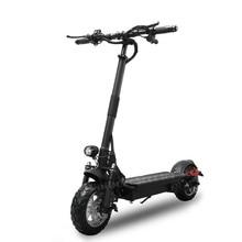 Мощный электрический скутер 1000 W 48 V AQIHO складной для взрослых 52 V складной скутер с сиденьем два колесных электрических скутеров
