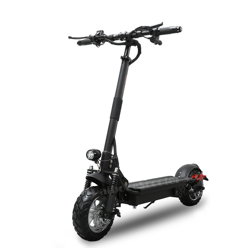 Scooter Elétrico poderoso 1000 W 48 V 52 V Dobrar Pontapé Scooter com assento Dobrável para adultos Elétrico de Duas Rodas scooters