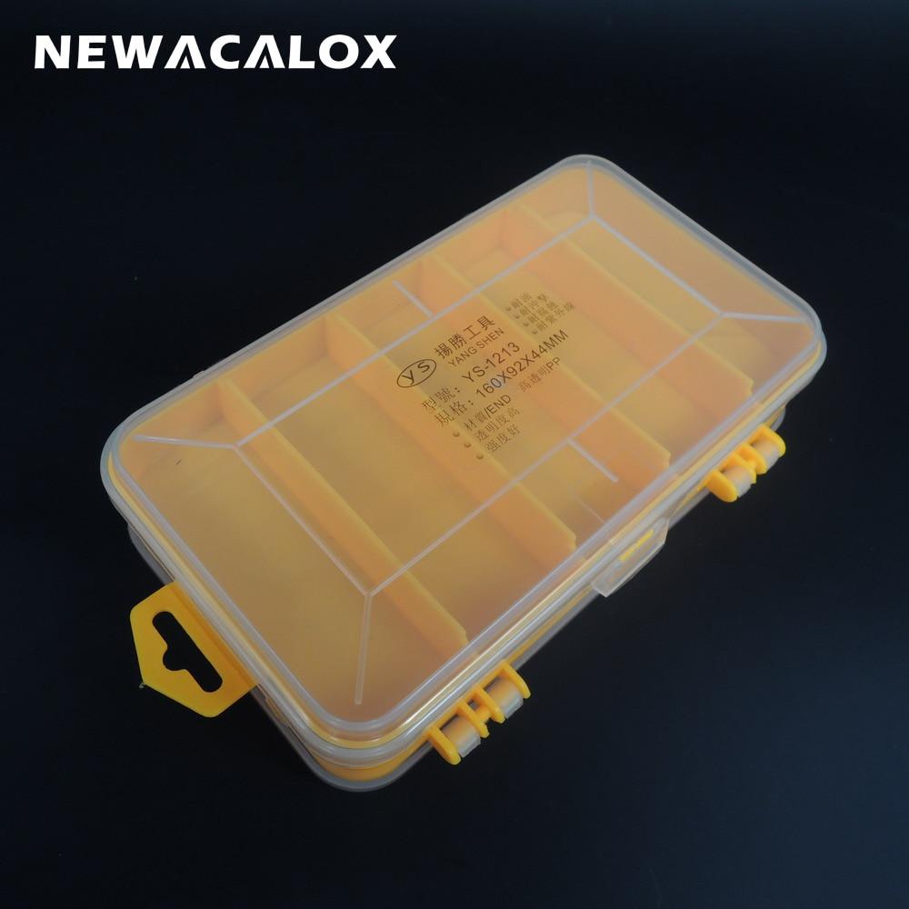двойной ящик для инструмента электронные пластиковые детали элементов шкатулка SMD монтажа винт компонент ящик для хранения
