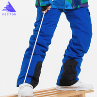 Children's Winter Ski Pants Windproof Overall Pants Tracksuits for Children Waterproof Warm Kids Boys Snow Ski Trousers