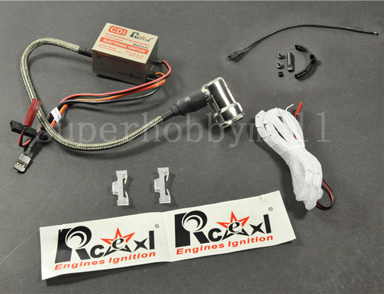1X Rcexl Best NGK-BPMR6F-14mm 6V-12V 90 Degree Single Ignition + DIY Universal Hall Sensor Bracket Kit ngk br8hs
