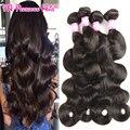 Королева Волос Продукты Перуанский Объемная Волна 4 Связки Необработанные 7А перуанский Девы Волос Объемной Волны Дешевые 100 Г Человеческих Волос Пучки 1B