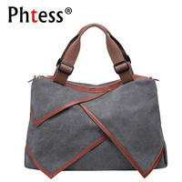 2018 Large Capacity Canvas Bags Women Handbags High Quality Big Tote Bags Female Messenger Crossbody Shoulder