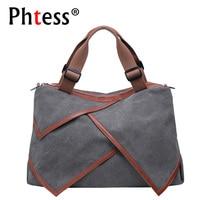 2018 Large Capacity Canvas Bags Women Handbags High Quality Big Tote Bags Female Messenger Crossbody Shoulder