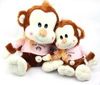 large 65cm yoci monkey plush toy lovely monkey doll throw pillow birthday gift w6170