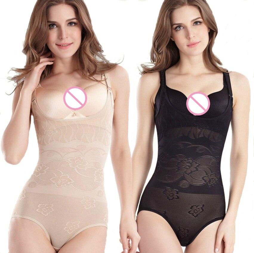 Women High Elastic Shapewear Underwear Body Shaper Siamese Corset Sexy Postpartum Behind Be Stripped Waist Slimming Bodysuit