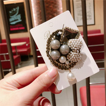 цена на CX-Shirling Korean Trendy Winter Fashion Fur Brooch Antique Style Brooches Pin Jewelry Female Jewelry Gifts