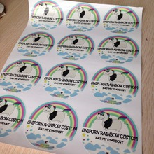 500pcs Personalized Wedding Favor Self-Adhesive Stickers