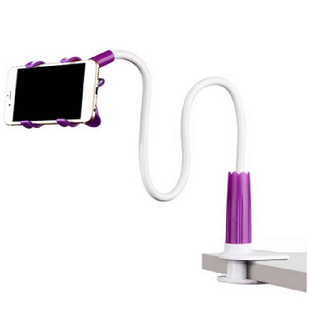 360 درجة Roating مرنة حامل هاتف الوقوف للجوال الذراع الطويلة حامل قوس دعم ل السرير سطح المكتب اللوحي