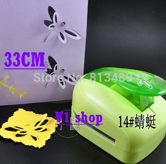 2'' 5cm Dragonfly Shaper Punch Card Cutter Paper Craft Punch Decorative Hole Punch Furadores Artesanais Large free shipping t shape hole punch shapes furadores hardballs pvc card plier 30x6mm stationery supply