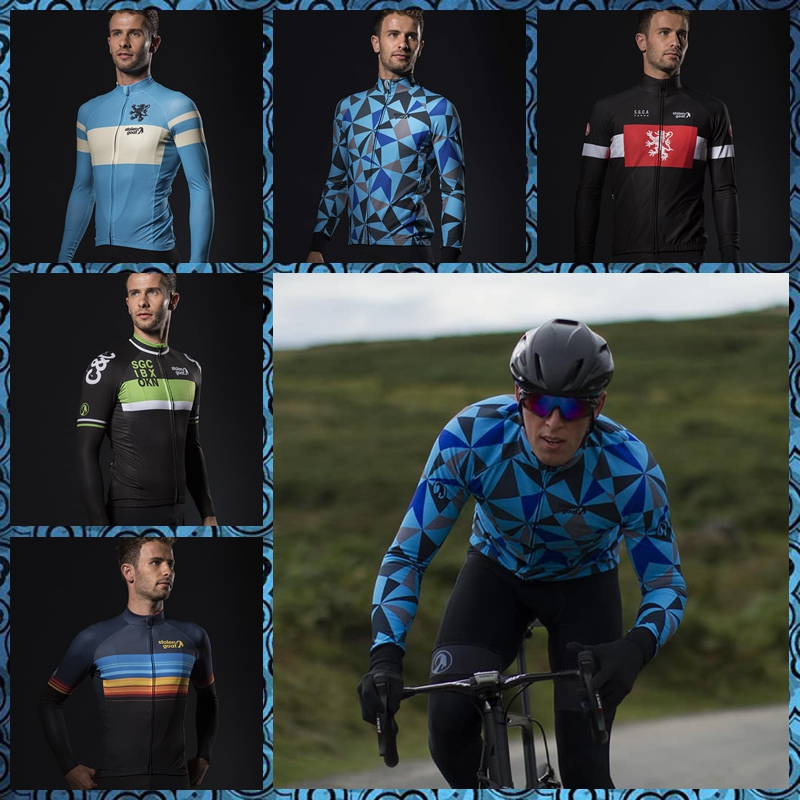Detail Feedback Questions about Team Stolen Goat CYCLING JERSEY 2018 long  sleeve cycle clothing men road bike riding clothes MTB racing wear maillot  ... c3982bb5f