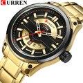 CURREN часы для мужчин Роскошные модные спортивные часы для мужчин кварцевые наручные часы из нержавеющей стали Relogio Masculino лучший бренд новинк...